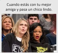 that girls are my and my bff Funny Spanish Memes, Spanish Humor, Funny Quotes, Funny Memes, Hilarious, Funny Vid, Top Memes, Northwestern University, Animal Jokes