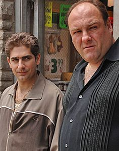 """Former HBO chief Chris Albrecht reportedly had a problem with a scene in the first season of """"The Sopranos"""" where Tony Soprano kills a guy while touring colleges in Maine with his daughter Meadow. Christopher Moltisanti, Frank Vincent, Gangster S, Tony Soprano, Men Are Men, Boss Man, Movie Quotes, Cinematography, Movies"""