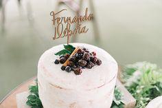Casamento Débora e Fernando - bolo