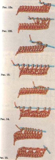 Тунисское вязание крючком                                                                                                                                                     Más
