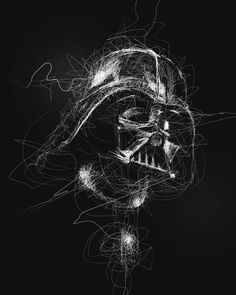 """1,201 tykkäystä, 5 kommenttia - Star Wars HD™ 🎥 (@starwars.hd) Instagramissa: """"This piece is titled: """"Darth Vader"""" • • Credit: Vince Low • • @jasonnario Shoutout to you! and…"""""""