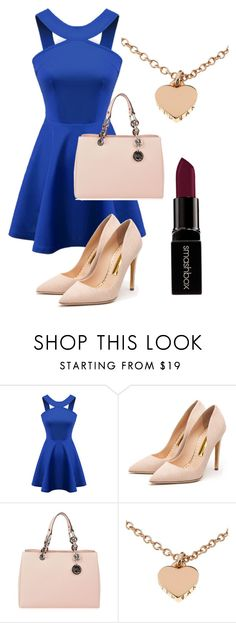 Sin título #414 by pamela-m-z on Polyvore featuring moda, Chicnova Fashion, Rupert Sanderson, MICHAEL Michael Kors, Ted Baker and Smashbox