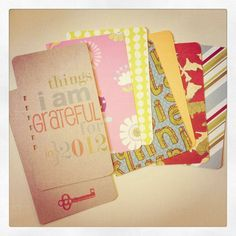 monthly separations  - Gratitude Journal  Personal Diary Journal  --  by iloveitall