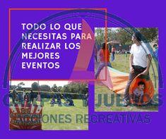 Organizamos el segmento de juego de un evento a las medidas de tus necesidades. #CarpasYJuegos #Kermesse #JuegosRecreativos #Eventos Baseball Cards, Sports, Games, Events, Hs Sports, Sport