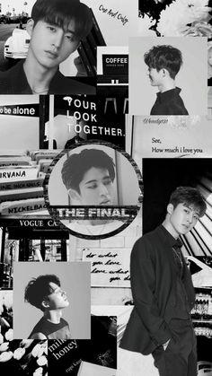 Ikon Wallpaper, Kim Hanbin, My Life, Kpop, Black, Black People