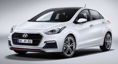 New Release Hyundai i30 Turbo 2015 Review Front Side View Model
