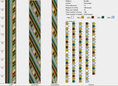 Image result for peyote with a twist not crochet patterns