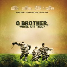 High quality reproduction movie poster for O Brother, Where Art Thou? directed by the Coen Brothers and starring George Clooney, John Turturro and Tim Blake Nelson from 11 x 17 high quality reproduction on card stock. George Clooney, Babyface Nelson, Love Movie, Movie Tv, Movie Titles, Crazy Movie, Perfect Movie, Movies Showing, Movies And Tv Shows