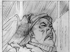 Details from a future project - comic illustrations from a story in distant time and space #6