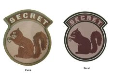 Military Black Ops Army Navy Secret Squirrel Mulitcam Patch Sticker Decal Combo by MilitaryMahogany on Etsy