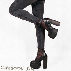 Jeffrey Campbell SCULLY black -стильные туфли женские купить в магазине CabLOOK.ru