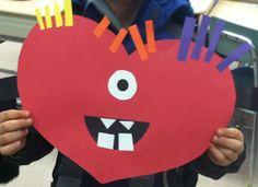 Valentine's Day Love Monster Glyph!