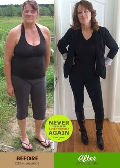 Before & After: 50 years old, 60 pounds