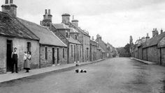Old photograph of Bishopmill, Scotland