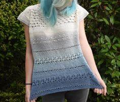 E-mail - Jeanne Schrauwen - Outlook Shrugs And Boleros, Knit Crochet, Crochet Tops, Crochet Vests, Crochet Clothes, Crochet Patterns, Short Sleeve Dresses, Knitting, Hobbies