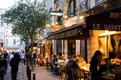 Paris trip planner. Dining at Bistrot Le Saint Emilion in the Latin Quarter.