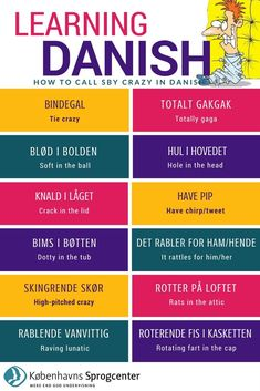 Crazy idioms in Danish Danish Christmas, Scandinavian Christmas, Scandinavian Style, Coding Languages, Love Languages, English Class, English Lessons, Anomic Aphasia, Danish Words