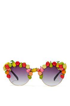 summer trend: fashion fruit salad