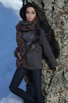 bgpoppysno133 | Poppy in the Snow | Lisa/Alex's doll | Flickr