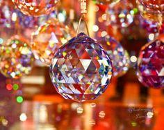 "Glitter 1 - 8"" x 10"" Print - Swarovski Crystal Pendants - Italy Europe Travel Photography - Fine Art Photography. via Etsy."