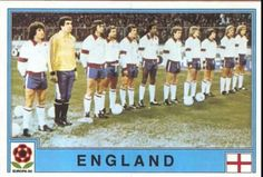 England team group for the 1980 European Championship.