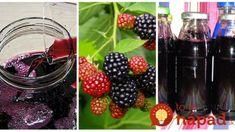 Liečivý sirup z černíc bez varenia: Za lyžičku do čaju a neviete, čo je chrípka a prechladnutie! Blackberry, Food And Drink, Punk, Fruit, Drinks, Healthy, Syrup, Drinking, Beverages