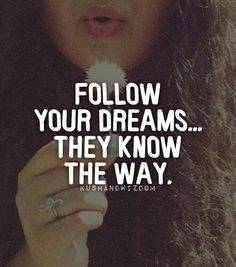 Follow your dreamsZzz zzz♥♥
