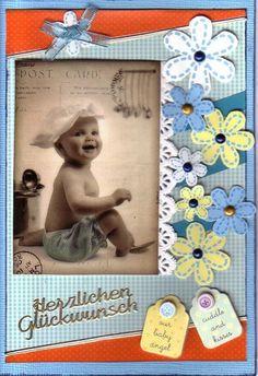 Babykarte für einen Jungen