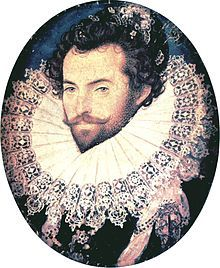 April 9, 1585 – The expedition organised by Sir Walter Raleigh departs England for Roanoke Island (now in North Carolina) to establish the Roanoke Colony.