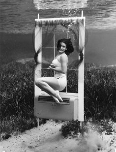 From the book - 'Silver Springs: The Underwater Photography of Bruce Mozert.' Photos: Silver Springs, Florida 1938. S)