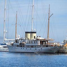 TALITHA 262 ft (80 m)  Builder : Krupp Germaniawerft La Ciotat - 12/04/16 by yachts_la_ciotat