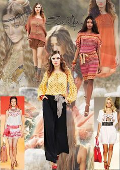 FASHION MOOD BOARDS by Joseph Tlou, via Behance