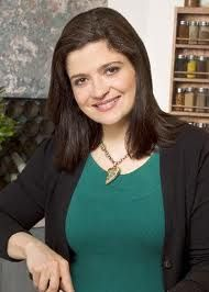 Alex Guarnaschelli. Love the way she describes food, makes my mouth water.