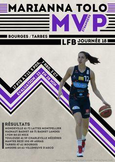 Marianna Tolo - MVP Etrangère - LFB Journée #18