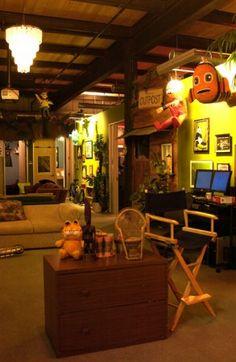 Oficinas de Pixar, pudiera sacrificarme y trabajar así!