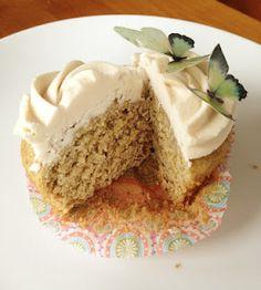 Rosewater Cardamom Cupcakes (gluten-free, dairy-free, egg-free, soy-free, and corn-free) Dairy Free Cupcakes, Gluten Free Cakes, Gluten Free Baking, Vegan Baking, Wheat Free Recipes, Allergy Free Recipes, Baking Recipes, Healthy Recipes, Patisserie Sans Gluten