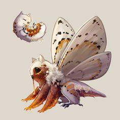 New Species? by Sekerys on DeviantArt New Species? by Sekerys on DeviantArt Cute Fantasy Creatures, Mythical Creatures Art, Mythological Creatures, Cute Creatures, Magical Creatures, Fantasy Monster, Monster Art, Monster Concept Art, Creature Concept Art