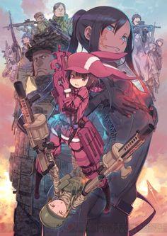 アニメ『ソードアート・オンライン オルタナティブ ガンゲイル・オンライン』は2018年4月放送開始
