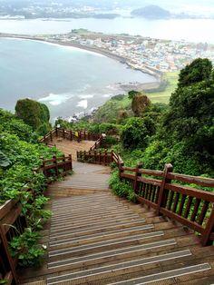 Ponderation — lovesouthkorea:  Seongsan Ilchulbong Peak by JIN...