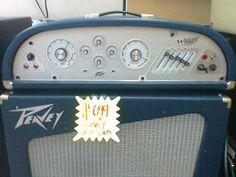 Retro Peavey amp...for the garage or basement.