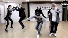 BTS: War of Hormone silly dance practice