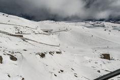 #Montaña cubiertas de #nieve