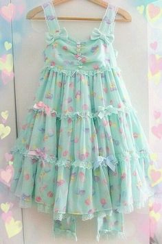 Sweet pastel dress
