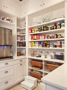 When I marry that rich man, and he builds me a huge house, it will have this huge walk-in pantry! :)