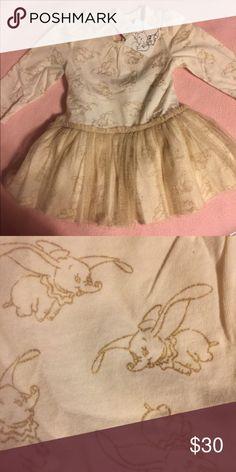 c7a3b12bb564 Baby gap dress Baby Gap Disney collection Dumbo tutu dress 6-12 months GAP  Dresses