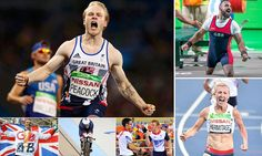 Gold Gold Gold! Team GB win three events in NINE remarkable minutes #DailyMail