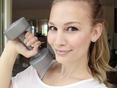 Anna Saccone: At-Home Teen Workout Routine!