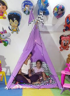 Play Tents, Teepee Tent, Teepees, Kids Camping Tent, Kids Tents, Tent Sale, Baby Kids, Kids Room, Toddler Bed