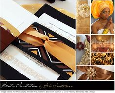 BIBI INVITATIONS - A truly Authentic African Inspired Wedding Invitations - Weddings in Nigeria