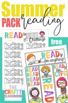 Free Summer Reading Pack